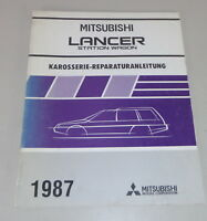 Workshop Manual Mitsubishi Lancer Station Wagon C 37 V Body Year 1987