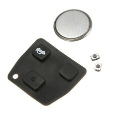 3 Button Remote Key Rubber Pad Battery Switch Repair Kit For Toyota Avensis Rav4