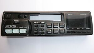 ALPINE VINTAGE 7525R / RARE FACE OFF RADIO CASSETTE PLAYER, CASE & CHASSIS