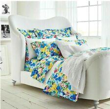 """Ralph Lauren Ashlyn Queen Sheet Set 21"""" Fit/Flat/Pc Blue Floral 4 Pc ~New 1St"""