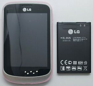 """LG 306G Cellphone Easy 3.2"""" Screen Locked TracFone Wireless Camera GSM Wi-Fi 3G"""