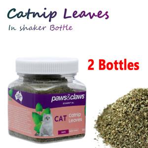 2x Natural Catnip Leaves Cat Nip Treats Play Toy Mint Organic Nepeta Cataria