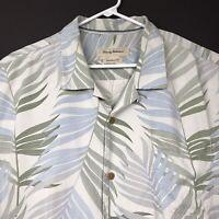 Tommy Bahama Mens Hawaiian Silk Shirt XXL Original Fit Resort Wear Tropical