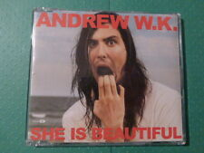 Andrew W.K. 'She Is Beautiful' CD (2002) Rare