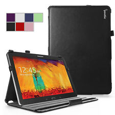 Poetic Samsung Galaxy Note 10.1 2014 Tablet  Stand Cover Case- StrapBack - Black