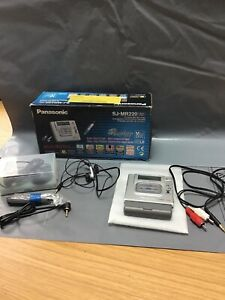 Panasonic Minidisc Recorder Player