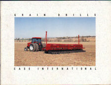 CASE International Tractor Grain Drill Brochure Leaflet