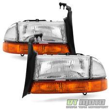 1997-2004 Dodge Dakota 1998-2003 Durango Headlights Bumper Lights Signal Lamps