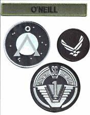 Stargate SG-1 O'Neill Uniform Screen Accurate Patch Set of 4