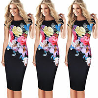 New Fashion Women Short Sleeve Bodycon Casual Evening Party Cocktail Mini Dress