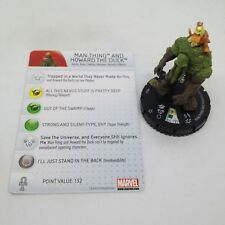 Heroclix Amazing Spider-Man set Man-Thing and Howard the Duck #047 Super Rare!