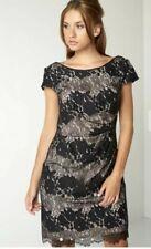 ✨✨ROMAN ORIGINALS Black Nude Lace Dress Size 20 RRP £60 BNWT Cocktail Party✨✨