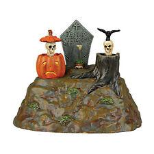 Dept 56 Halloween 2014 Animated Skulls #4038882 Mib Free Shipping 48 States