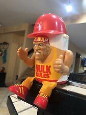 Vintage WWF Wwe Hulk Hogan Cooler Cup Mug 1990 Superstar Collectibles RARE
