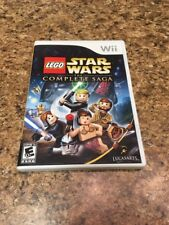 LEGO Star Wars The Complete Saga Nintendo Wii 2007 Disk+Case+Manual Tested Works