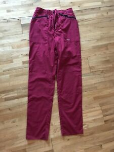 Rohan Bags Airlight Red Lightweight Trousers Size UK 12 (10) Good Condition