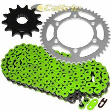 Green O-Ring Drive Chain & Sprockets Kit Fits KAWASAKI KX250F 2006 07 08 09 2010