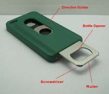 HOT DEALS- HEAVY DUTY PHONE CASE FOR APPLE IPHONE 4/4S WITH OPENER WHITE