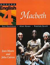 "Hodder English: Macbeth Level 4, Scott, Patrick, Hackman, Sue, Howe, Alan, ""AS N"