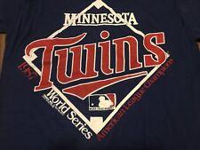 True Vintage 1987 Minnesota Twins Large T Shirt MLB Fits Like Small Or Medium
