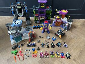 Imaginext DC Batman Bundle: Batbot, Arkham Asylum, Mr freeze, Penguin & More