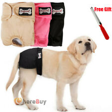 3x XL Female Diaper Underwear Dog Pet Washable Sanitary Pants Anti Harassment