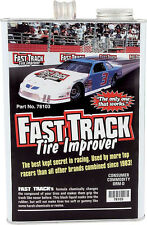 FAST TRACK RACE TIRE SOFTENER SOAK TREATMENT 1GAL INCREASE TRACTION ASPHALT DIRT