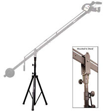 ProAm Camera Crane Jib Boom Support Stand, Max 6' High 360º Pan, Aluminum Mount