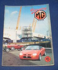 ENJOYING MG JANUARY 2000 VOLUME 21 NUMBER 1 - MG 1100/1300 PART TWO