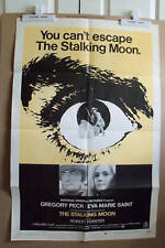THE STALKING MOON~STYLE B~1 SHEET~ORIGINAL~MOVIE POSTER~1968~GREGORY PECK