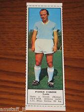 *PAOLO CAROSI LAZIO=FIGURINA=1966/67=ALBUM FIGURINE CALCIATORI TEMPO