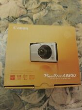 New Open Box Red Canon Powershot A2200 Digital Camera 14.1 Megapixels