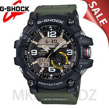 NEW G-Shock Men's Analog-Digital Mud Master Army Green Strap Watch GG1000-1A3