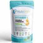 Vitamin C 1000mg - 60 Capsules - Double Strength Immune Support Antioxidant