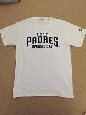 SAN DIEGO PADRES Opening Day Shirt Giveaway April 7 2017 Size Medium
