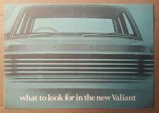 c 1967 Chrysler Valiant & Valiant VIP original sales brochure