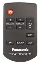 NEW N2QAYC000084 Panasonic Sound bar Remote Control SC-HTB65 SA-HTB65 SC-HTB170G