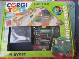 "CORGI 2012 ""Built to Last"" EDDIE STOBART Playset"