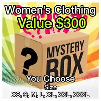 Clothing Surprise Lot of Women's Clothing 11+ items $300+ Value XS S M L XL XXL