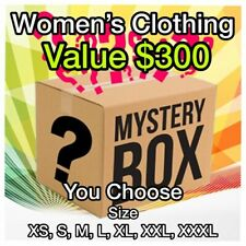 Clothing Surprise Lot of Women's Clothing 11+ items $300+ Value XS S M L XL XXL