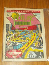 FUTURE TENSE #8 MARVEL BRITISH WEEKLY 24 DECEMBER 1980 STAR TREK MICRONAUTS