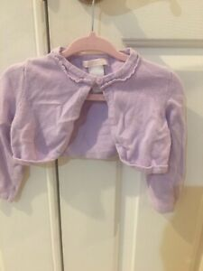 Girls Janie And Jack Purple Cardigan Sweater Size 12 To 18 Months