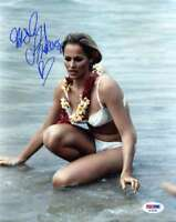 Ursula Andress Psa Dna Coa Hand Signed Authenticated 8x10 Photo Autograph