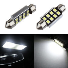 2x 36mm 2835 Festoon Canbus 8 LED Car Interior Dome Map Light Bulb Reading Lamps