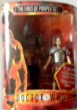 Doctor Who Actin Figures  THE FIRES OF POMPEII SET Action Figures Set