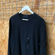 £395 Stone Island Ghost Piece Jumper/Sweater/Crewneck - XL (LARGE ?) Navy Shadow