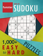 Funster Tons of Sudoku 1,000+ Easy to Hard Puzzles: A bargain bonanza for Sudoku