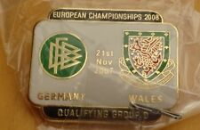 GERMANY v WALES EUROPEAN CHAMPIONSHIP  QUALIFYING GROUP D 21-11-07