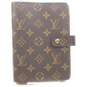 Louis Vuitton Diary Cover Agenda MMR20105 Browns Monogram 1603163