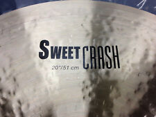 "NEW Zildjian 20"" K Sweet Crash Cymbal"